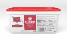 Renshaw Ready To Roll Fondant:red 5lb