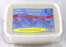 Life of the Party 10 Lb Tub Clear Glycerin Soap