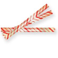 Candy Stripe Twist Tie 100