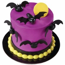 Bat Cupcake Pics 6pkg