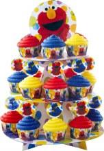 Wilton Seasame St. Cupcake Stand