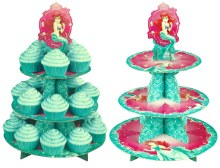 Wilton The Little Mermaid Cupcake/des