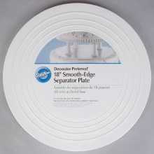 Wilton 18 Round Smooth Edge Plate