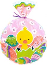 Wilton Chicks & Eggs Round Party Bags