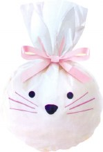 Wilton Bunny Bags W Pink Ribbons
