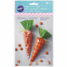 Wilton Carrot Bags With Ties