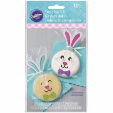 Wilton Treat Bag With Bunnystickers