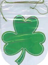 Wilton Shaped Shamrock Party Bags