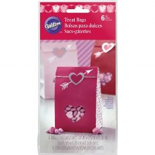 Wilton Treat Bags - 6pkg.