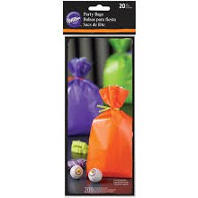 Wilton Std Assorted Treat Bags 20/pkg