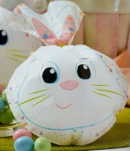 Wilton Colorful Bunny Shaped Bags