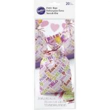Wilton Party Bags Candy Heart 20pkg.