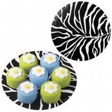 Wilton 8 Zebra Cake Doilies Pkg/16