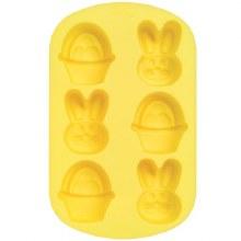 Wilton Mini Bunny & Basket Silicone P