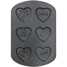 Wilton 6 Cavity Heart Cookies
