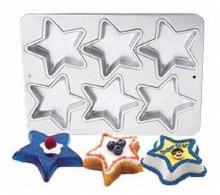 Wilton Mini Star Specialty Pan 6 Cav