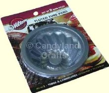 Wilton Mini Fluted Tube Cake Pan Set/