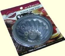 Wilton Mini Fluted Tube Cake Pan Set/