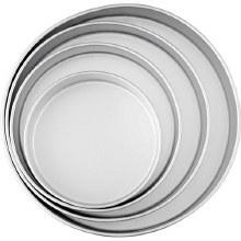 Wilton 4-pc Round Pan Set 3' Deep