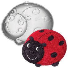 Wilton Lady Bug Shaped Pan