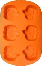 Wilton Jack-o-lantern Silicone Mini P