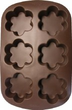 Wilton Blossom Brownie Mold