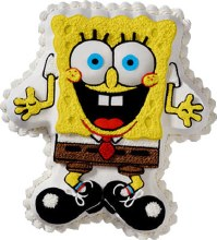 Wilton Excited Sponge Bob Squarepants