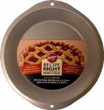 "Wilton 9""x11/4"" Pie Pan"