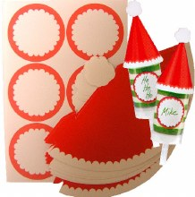 Wilton Santa's Hat Treat Pops Decorat
