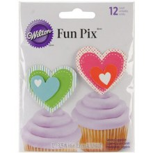 Heart Fun Pix 12pk.