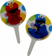 Wilton Elmo Fun Picks 12/pkg