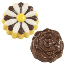 Wilton Daisy Cookie Candy Mold6 Cav.