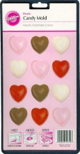 Wilton Heart Candy Mold