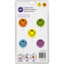 Wilton Smiley Faces Lollipop Mold