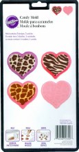Wilton Animal Print Hearts