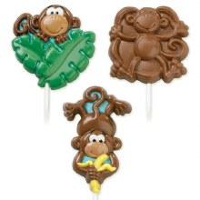 Wilton Monkey Lollipop Mold