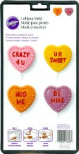 Wilton Conversation Heart Lollipop