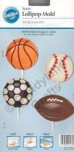 Wilton Sports Balls Lollipop Mold