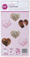 Wilton Deep Heart Truffles Mold