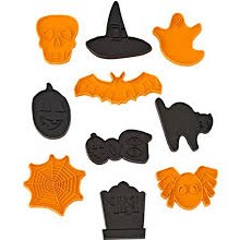 Wilton 10piece Halloween Cookie Cutte
