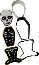 Wilton Cc Set Clr Mtl Skeleton 3pc