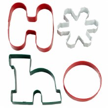 Wilton Ho Ho Cookie Cutter Set