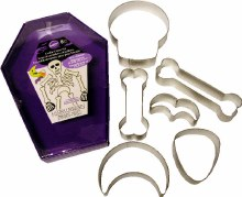Wilton Skeleton Cookie Cutter Set/cas
