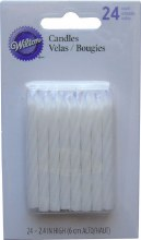 Wilton Candles: White 24/pk