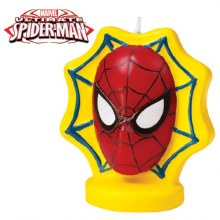 Wilton The Ultimate Spiderman Candle