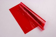 Large Red Cellophane Roll 30x1