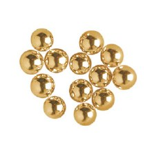 3 Mm Gold Dragees 4 Oz.