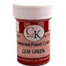 CK Product Powdered Food Color: Leaf Gree