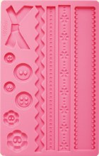 Fabric Fondant & Gumpaste Mold