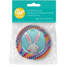 Foil Easter Baking Cups 24ct
